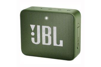 JBL GO 2 Portable Mini Bluetooth Speaker - Moss Green [Au Stock]