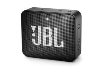 JBL GO 2 Portable Mini Bluetooth Speaker - Midnight Black [Au Stock]
