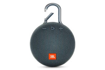 JBL Clip 3 Portable Bluetooth Speaker With Carabiner - Blue