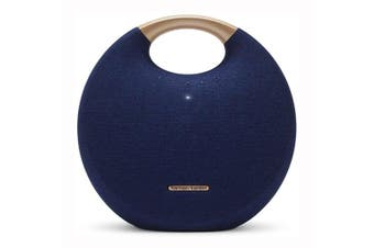 Harman Kardon Onyx Studio 5 Portable Bluetooth Speaker - Blue