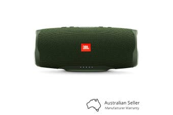 JBL Charge 4 Portable Bluetooth Speaker With Power Bank - Green [Au Stock]