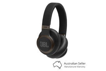 JBL Live 650BTNC Wireless Over-Ear Noise-Cancelling Headphones - Black [Au Stock]