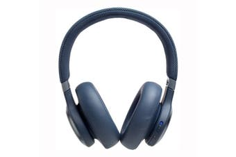 JBL Live 650BTNC Wireless Over-Ear Noise-Cancelling Headphones - Blue [Au Stock]