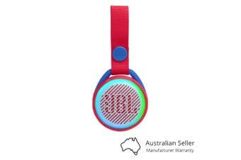 JBL JR POP Kids Portable Bluetooth Speaker - Spider Red [Au Stock]