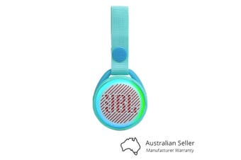 JBL JR POP Kids Portable Bluetooth Speaker - Aqua Teal [Au Stock]