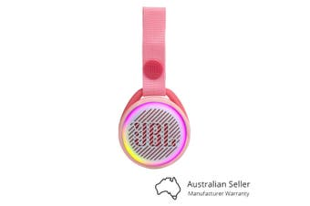 JBL JR POP Kids Portable Bluetooth Speaker - Rose Pink [Au Stock]