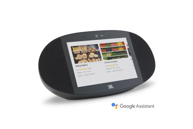 JBL Link View Screen Speaker with Google Assistant - Black [Au Stock]