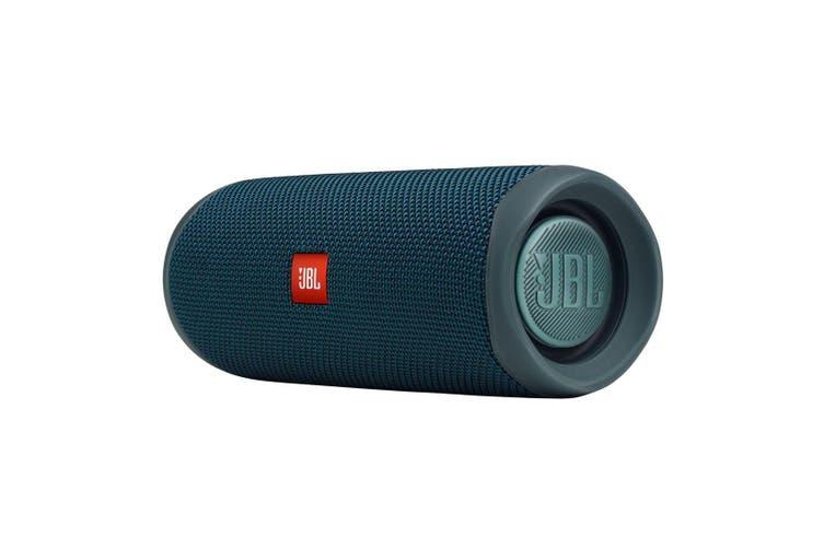 JBL Flip 5 Portable Wireless Waterproof Speaker - Blue [Au Stock]