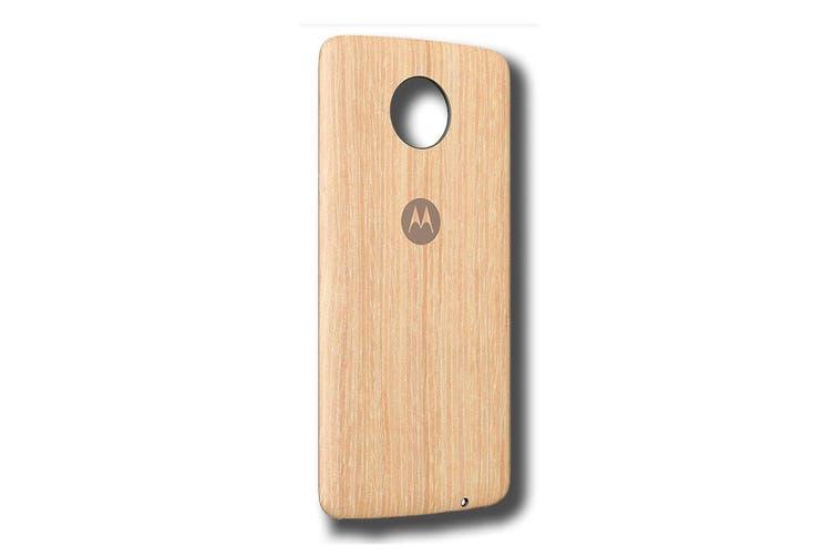 Motorola Moto Style Shell for Moto Z/Z Play/Z2 Play - Washed Oak [Au Stock]