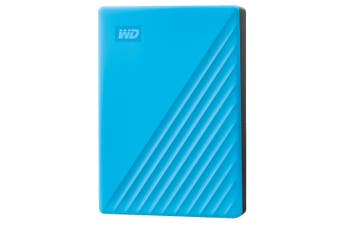 WD My Passport 4TB Portable Hard Drive USB 3.0 (2019) WDBPKJ0040BBL-WESN - Blue [Au Stock]