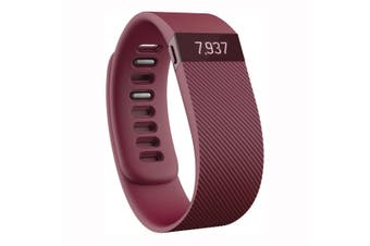 Fitbit Charge Wireless Activity Wristband Burgundy - Large  [Au Stock]