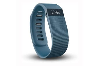 Fitbit Charge Wireless Activity Wristband Blue - Extra Large  [Au Stock]