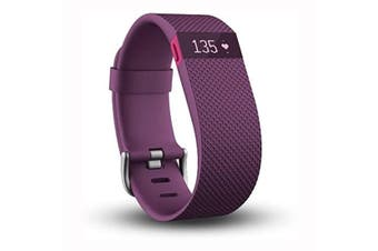 Fitbit Charge HR Heart Rate Activity Wristband Plum -  Extra Large [Au Stock]