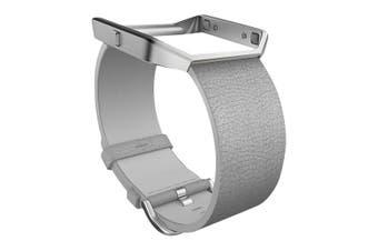 Fitbit Blaze Band Leather Small FB159LBMGS- Mist Grey  [Au Stock]