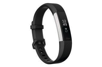 Fitbit Alta HR Activity Tracker Large - Black [Au Stock]