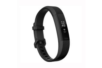 Fitbit Alta HR Activity Tracker Large - Black Gunmetal [Au Stock]