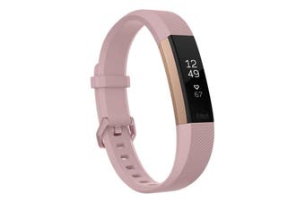 Fitbit Alta HR Activity Tracker Large - Rose Gold [Au Stock]