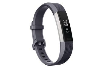 Fitbit Alta HR Activity Tracker Small - Blue Gray [Au Stock]
