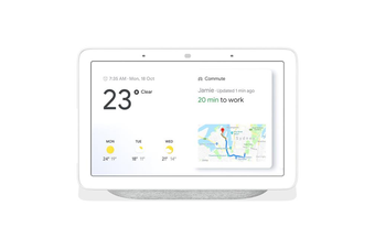 Google Home Nest Hub Smart Display & Home Assistant - Chalk [Au Stock]