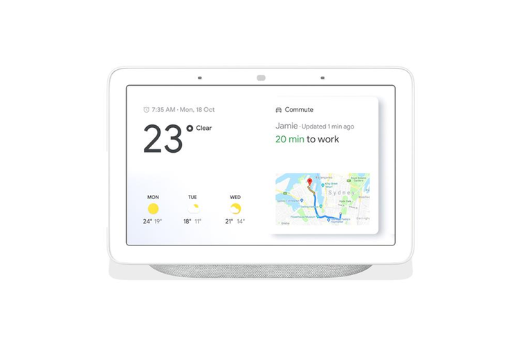 Google Home Nest Hub Smart Display & Home Assistant - Chalk [Au Stock]