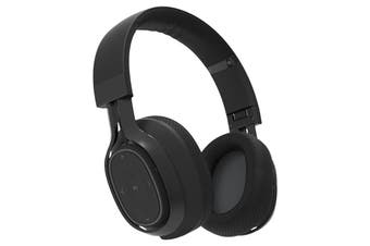 BlueAnt Pump Zone Wireless HD Audio Headphones - Black