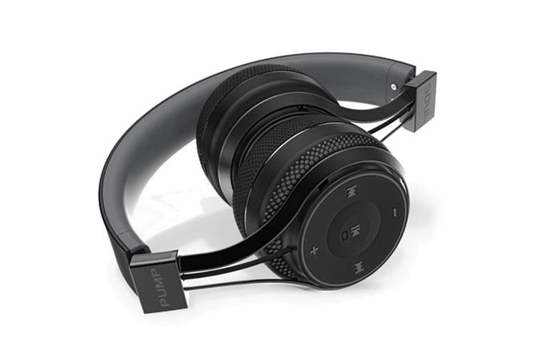 Blueant Pump Soul Bluetooth Wireless on Ear Stereo Headset - Black [Au Stock]