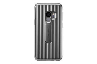 Samsung Galaxy S9 Protective Standing Cover - Grey [Au Stock]