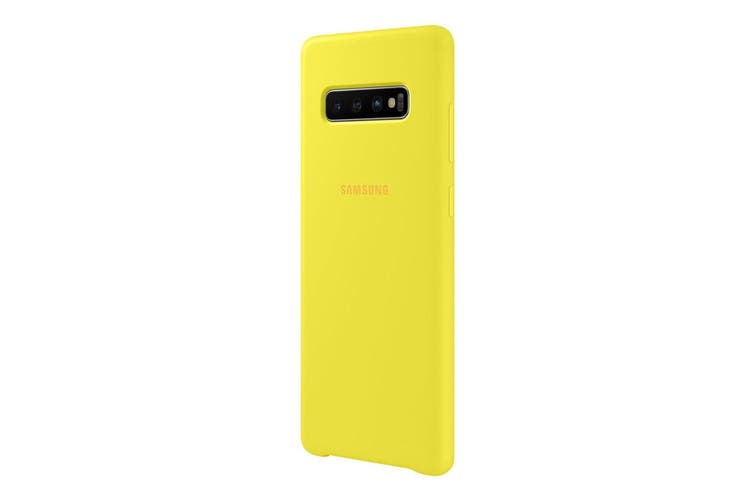 Samsung Galaxy S10+ Plus Silicone Cover - Yellow [Au Stock]