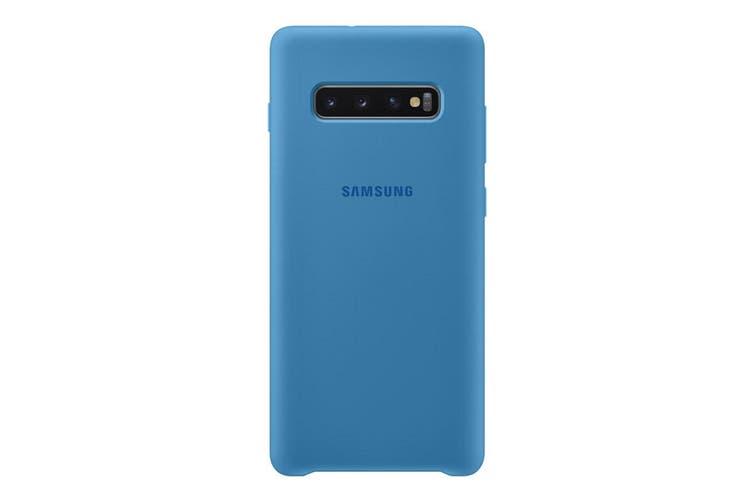 Samsung Galaxy S10+ Plus Silicone Cover - Blue [Au Stock]