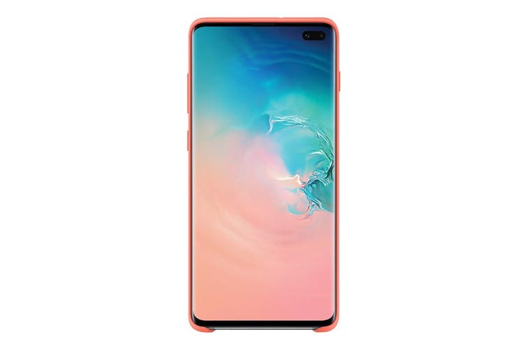 Samsung Galaxy S10+ Plus Silicone Cover - Berry Pink [Au Stock]