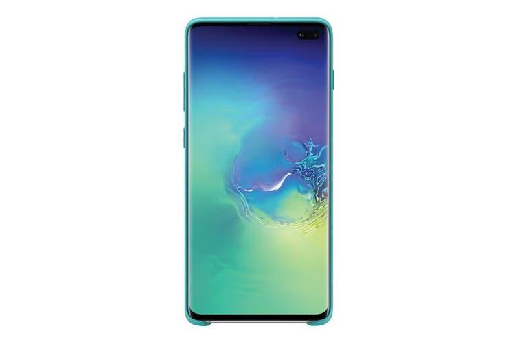 Samsung Galaxy S10+ Plus Silicone Cover - Green [Au Stock]