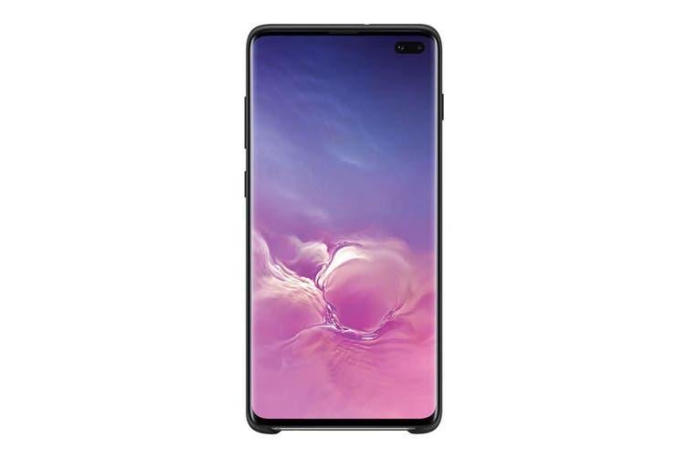 Samsung Galaxy S10+ Plus Silicone Cover - Black [Au Stock]