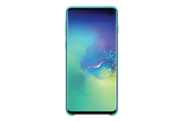 Samsung Galaxy S10 Silicone Cover - Green [Au Stock]