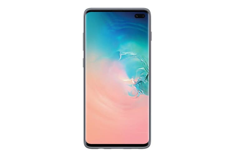 Samsung Galaxy S10+ Plus Protective Standing Cover - Silver [Au Stock]