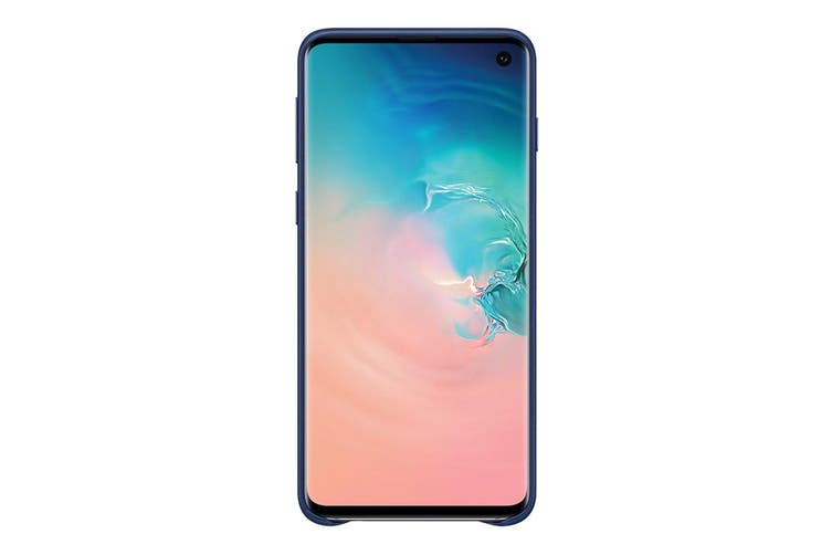 Samsung Galaxy S10 Leather Back Cover - Navy [Au Stock]