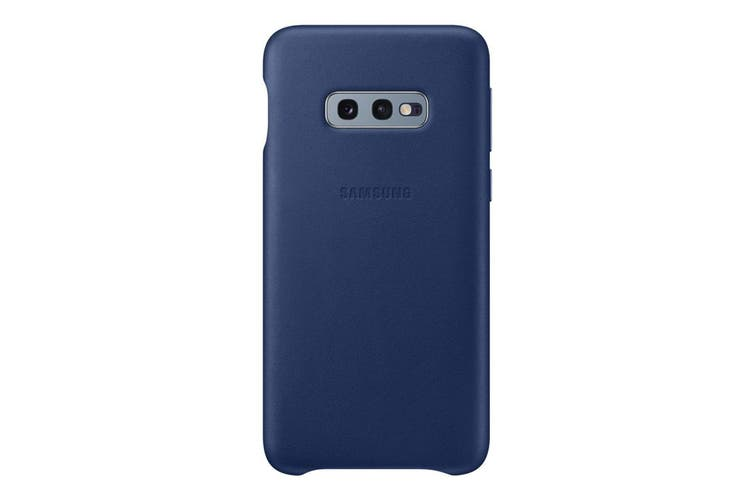 Samsung Galaxy S10e Leather Back Cover - Navy [Au Stock]
