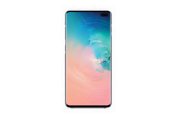 Samsung Galaxy S10+ Plus LED Back Cover - White [Au Stock]