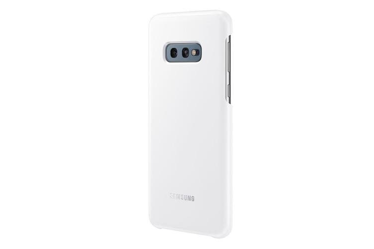 Samsung Galaxy S10e LED Back Cover - White [Au Stock]