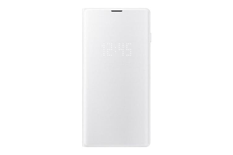 Samsung Galaxy S10 LED View Wallet Cover - White [Au Stock]