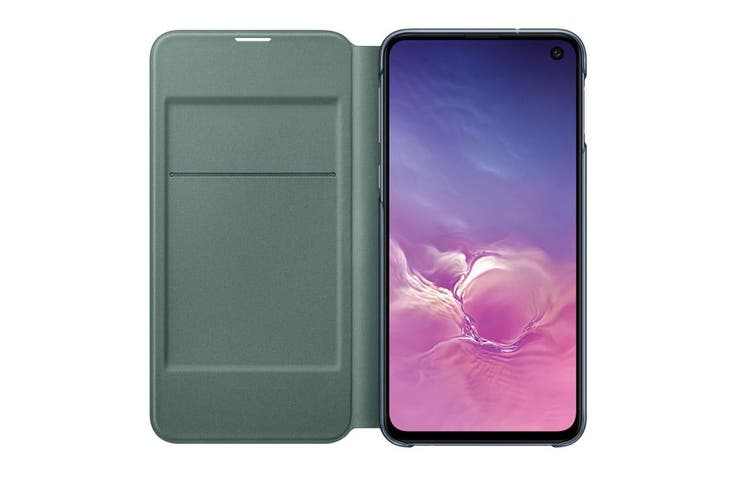 Samsung Galaxy S10e LED View Wallet Cover - Black [Au Stock]