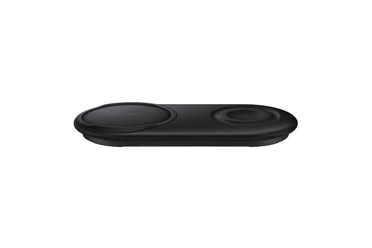 Samsung 12W Wireless Charger Duo Pad EP-P5200TBEGAU (for Phone+Watch) - Black [Au Stock]