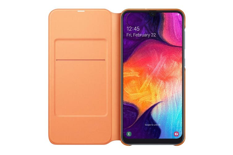 Samsung Galaxy A50 Wallet Cover - White [Au Stock]