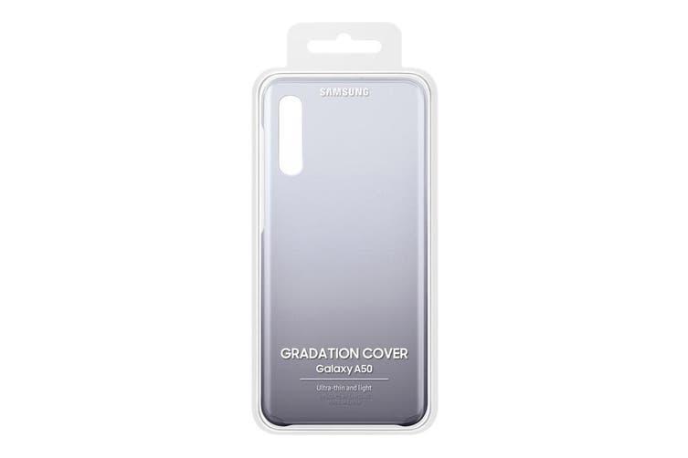 Samsung Galaxy A50 Gradation Cover - Black [Au Stock]