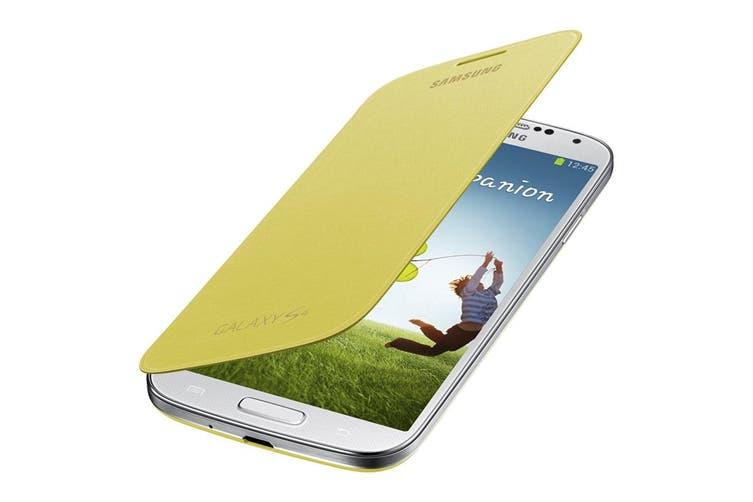 Samsung Galaxy S4 Flip Cover Yellow [Au Stock]