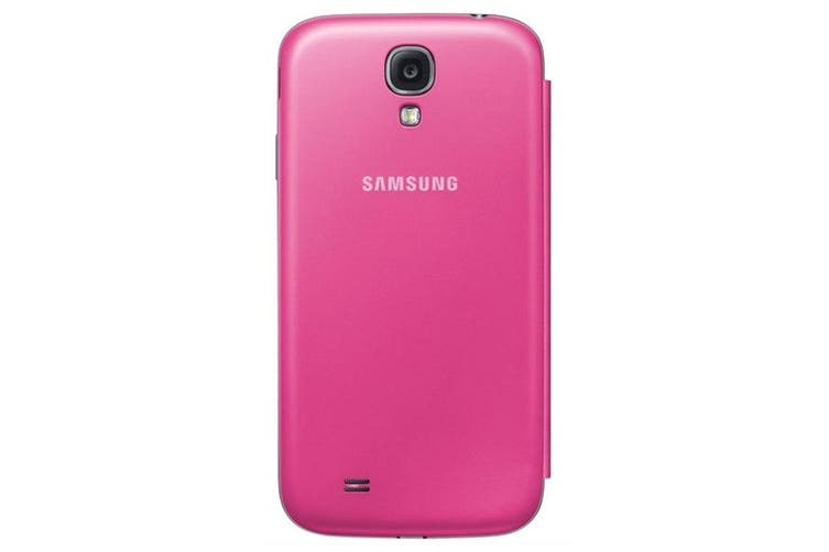 Samsung Galaxy S4 S-View/Clear Cover Pink [Au Stock]