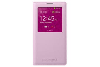 Samsung Galaxy Note 3 S-View Cover Pink [Au Stock]