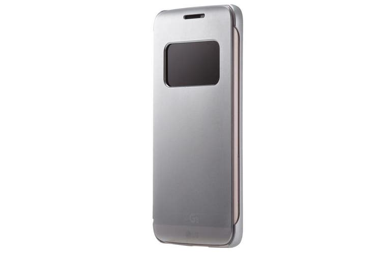 VOIA CleanUp Folio Case for LG G5 - Silver [Au Stock]