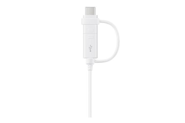 Samsung 1.5m Data Cable Combo (USB Type C & Micro USB)  EP-DG930DWEGWW - White [Au Stock]