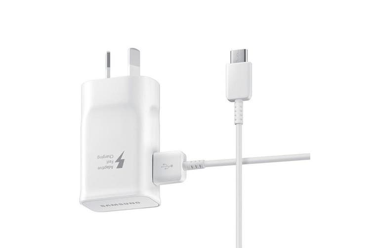 Samsung Fast Charge Type-C USB 15W AFC Travel Adapter  EP-TA20HWECGAU - White [Au Stock]