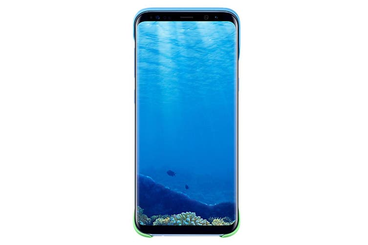 Samsung Galaxy S8+ 2 Piece Back Cover - Blue [Au Stock]